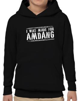 I Was Made For Amdang Hoodie-Boys