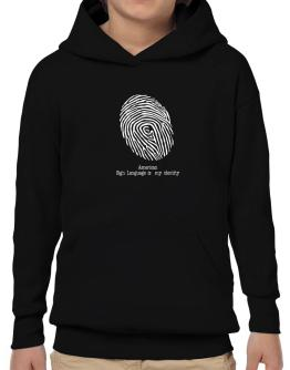 American Sign Language Is My Identity Hoodie-Boys