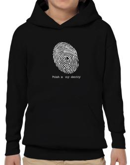 Polish Is My Identity Hoodie-Boys
