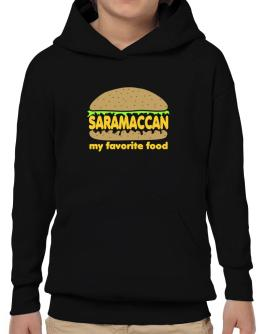 Saramaccan My Favorite Food Hoodie-Boys