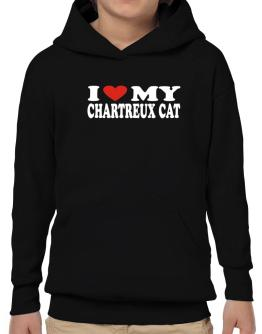 I Love My Chartreux Hoodie-Boys