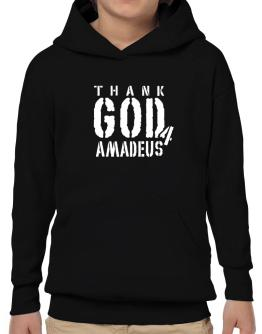 """  THANK GOD FOR Amadeus "" Hoodie-Boys"