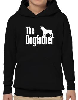 The dogfather Australian Cattle Dog Hoodie-Boys