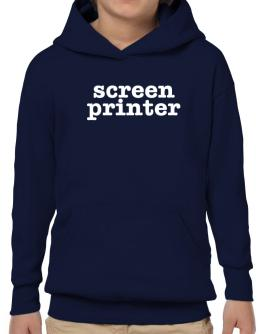 Screen Printer Hoodie-Boys