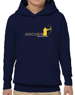 Archery - Only For The Brave Hoodie-Boys