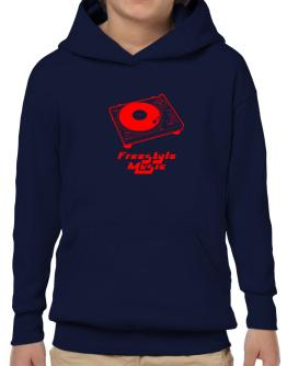 Retro Freestyle Music - Music Hoodie-Boys