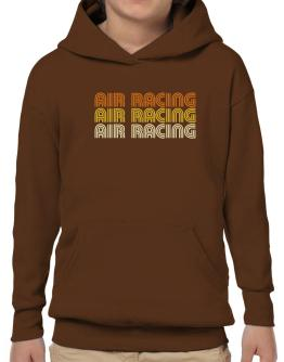 Air Racing Retro Color Hoodie-Boys