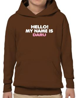 Hello! My Name Is Daru Hoodie-Boys