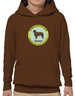 Australian Shepherd - Wiggle Butts Club Hoodie-Boys