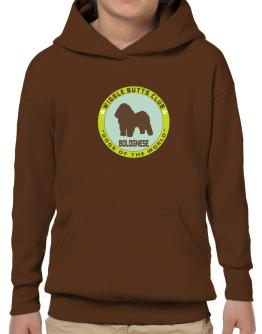 Bolognese - Wiggle Butts Club Hoodie-Boys