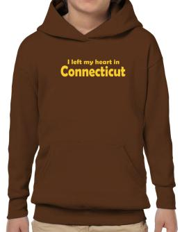 I Left My Heart In Connecticut Hoodie-Boys