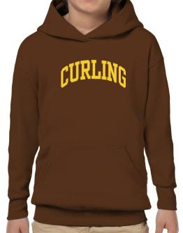 Curling Athletic Dept Hoodie-Boys