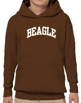 Beagle Athletic Applique / Embroidery Hoodie-Boys