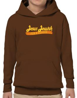 Jesus Jewish For A Reason Hoodie-Boys