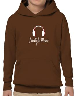 Listen Freestyle Music Hoodie-Boys