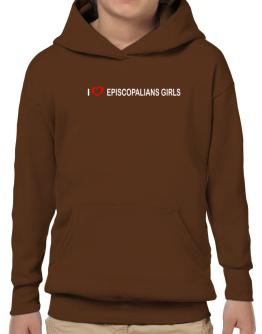 I love Episcopalians Girls Hoodie-Boys