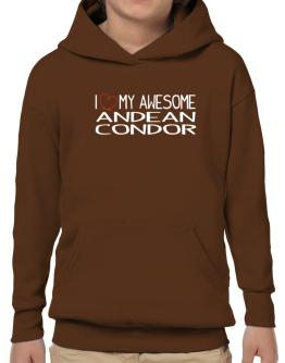 I love my awesome Andean Condor Hoodie-Boys