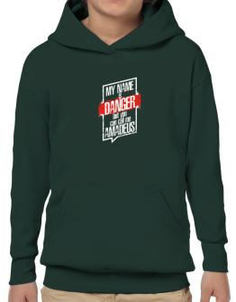 My name is danger but you can call me Amadeus 2 Hoodie-Boys