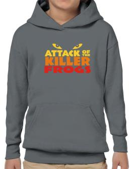 Attack Of The Killer Frogs Hoodie-Boys