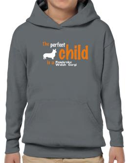 The Perfect Child Is A Pembroke Welsh Corgi Hoodie-Boys