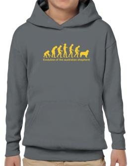 Evolution Of The Australian Shepherd Hoodie-Boys