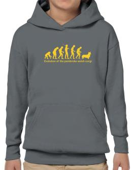 Evolution Of The Pembroke Welsh Corgi Hoodie-Boys
