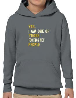 Yes I Am One Of Those Footbag Net People Hoodie-Boys