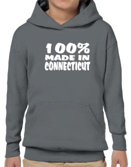 100% Made In Connecticut Hoodie-Boys