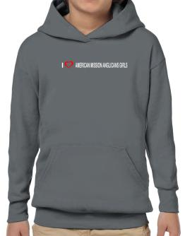 I love American Mission Anglicans Girls Hoodie-Boys