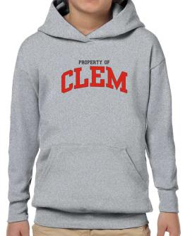 Property Of Clem Hoodie-Boys