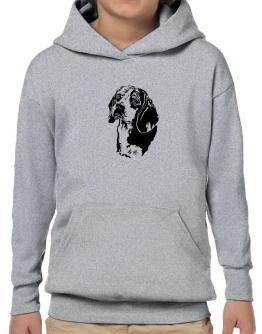 Beagle Face Special Graphic Hoodie-Boys