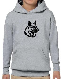 """ Belgian Malinois FACE SPECIAL GRAPHIC "" Hoodie-Boys"