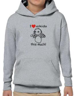 I Love You Aikido Hoodie-Boys