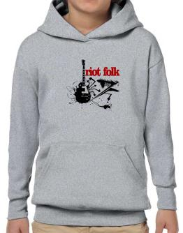 Riot Folk - Feel The Music Hoodie-Boys