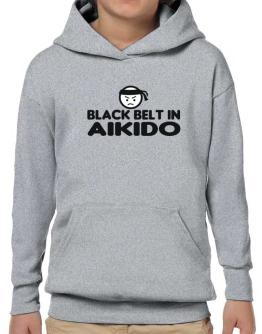 Black Belt In Aikido Hoodie-Boys