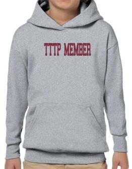 Tttp Member - Simple Athletic Hoodie-Boys