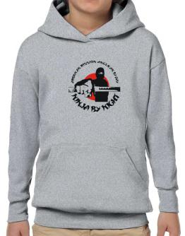 American Mission Anglican By Day, Ninja By Night Hoodie-Boys