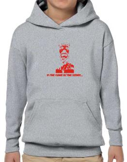 """"""" In the name of the father... - Jesus """" Hoodie-Boys"""