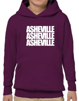 Asheville three words Hoodie-Boys