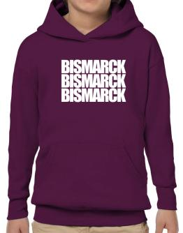 Bismarck three words Hoodie-Boys