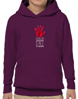 Being a Andean Condor is not a crime 2 Hoodie-Boys