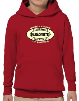 Original Massachusetts Since Hoodie-Boys