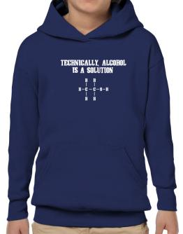 Alcohol is a solution Hoodie-Boys