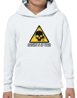 Amadeus Is My Name, Danger Is My Game Hoodie-Boys