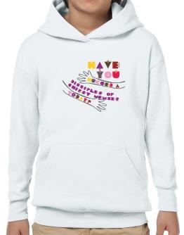 Have You Hugged A Disciples Of Chirst Member Today? Hoodie-Boys
