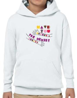 Have You Hugged A Pcg Member Today? Hoodie-Boys