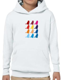 Colorful British Shorthair Hoodie-Boys