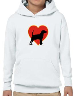 Kerry Beagle heart love Hoodie-Boys