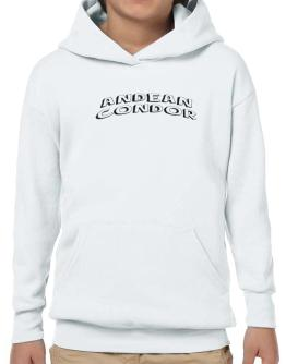 Andean Condor classic style Hoodie-Boys