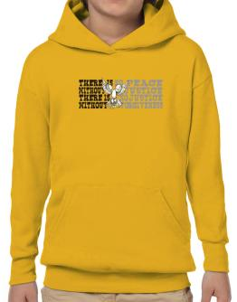 There Is No Peace Without Justice. There Is No Justice Without Forgiveness Hoodie-Boys